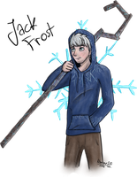 .::Fan Art- Jack Frost::. by Nonthyl