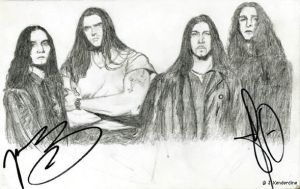 Type O Negative by aingealdorcha