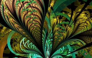 Ribbions Of Ferns by jemgirl