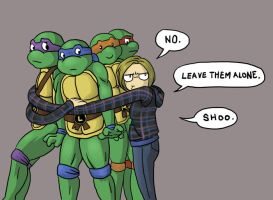 Teenage Mutant Ninja Turtles are Not For You by kmajor