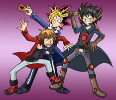 Tosho-Con YGO Tournament by indecisivepancake