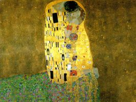The Kiss by Klimt by Kumna