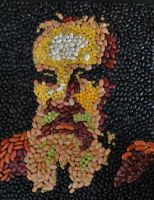 Galileo in Beans by Spacewoman-Spiff