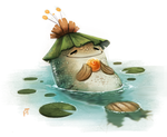 Day 524. Fish Prince Quickie by Cryptid-Creations