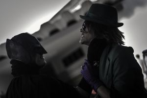The Riddler Vs Batman - Gotham Park Fight  Pt.2 by DashingTonyLima