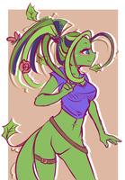Plant Girl by l-Blair-l