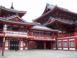 Osu Kannon Temple by zzDarkChizz