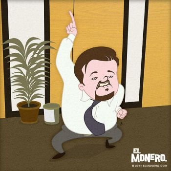David Brent by jarturotorres