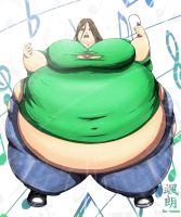 Second step -really fat girl- by Satsurou