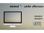 Minimal #1 - Winter Afternoon by guemor