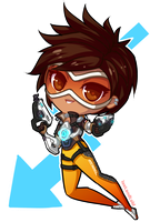 Tracer || Overwatch by LostAdopt