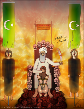 Commission: Religion of Peace - censored by DarkHunter1357