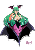 Morrigan by Rin-alexiel