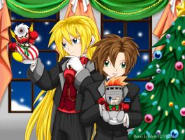 RMX - Anna's Secret Santas by yukito-chan