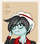 Hipster Marshall Lee by Mad-Hattress-Ari