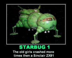 Red Dwarf - Starbug 1 by DoctorWhoOne