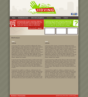 Website Hoving DPS Concept by BeZaX
