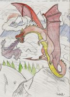 Dragon for Soldiers by Jamin95