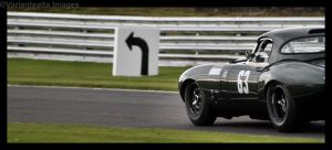 E-Type Jaguar Racing by Deus-est-femina