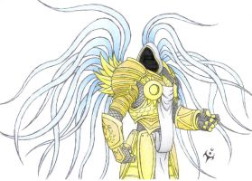 Tyrael colored by triumviratusok