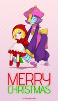 Request: Christmas Present by TripleSpearMint