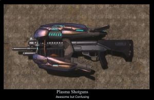 Plasma Shotgun by compositecoyote