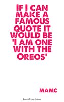 One with the Oreos by Thismexicanisout