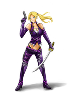 Nina Williams_re-design by LaDyRvE