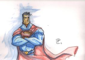 the man of steel by DCarelli