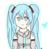 Finished Miku by DigitalKelby