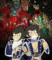 A Taste of Chaos commission by MichaelJLarson