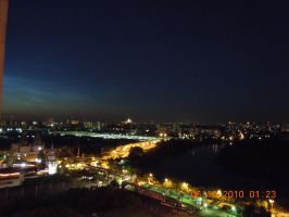 Moscow at Night by Ciceroplato