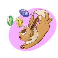 Eevee by LordBoop