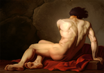Jacques-louis david study by johnderekmurphy