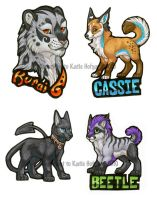FC 2010 preorder badges by KatieHofgard