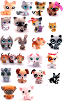 Littlest Pet Shop Collection09 by Messybun