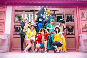 We are the Straw Hat Pirates! by xxDorii