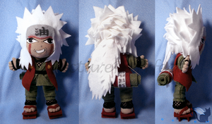 Commission: Jiraiya Plushie by Meip