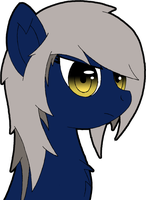OC Headshot - Downpour by blazeLimit