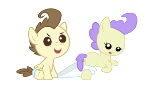 Two Foals Perverts by 3D4D