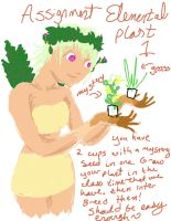 elemental plant assignment1 by sarahbeara
