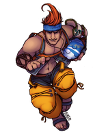 Final Fantasy X: Wakka by Blencem