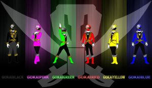 Gokaigers for Pikatwig by rangeranime