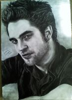 Robert Pattinson by mary11dc