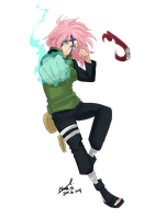 Team 7: Haruno Sakura by Stray-Ink92