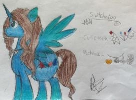my oc switcharoo by Invader-Mika7