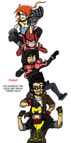 Marauder Bros Piggybacking by Andrimnir
