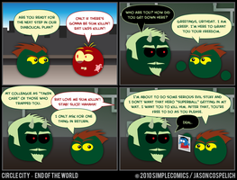 CC410 - End of the World 10 by simpleCOMICS