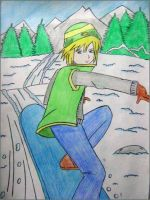 Chill out - Cloud Strife by relentlessrevolver