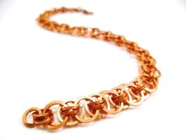 Copper Micro Helms Chain by SerenityinChains